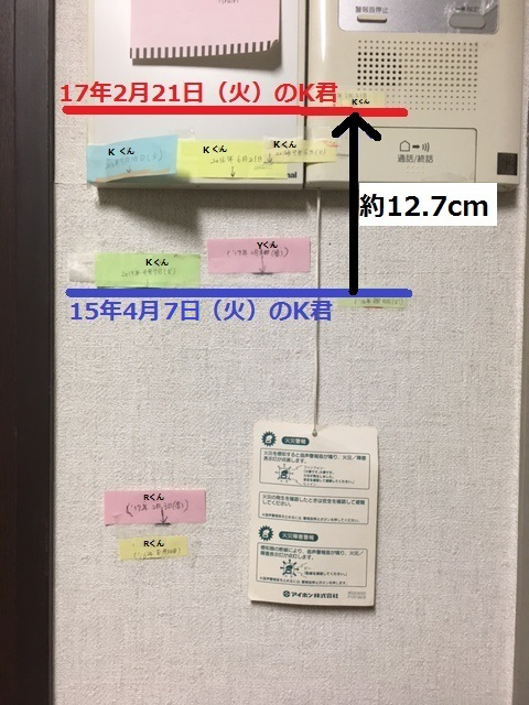 こども達の、背比べ(↑黒_アップ).JPG